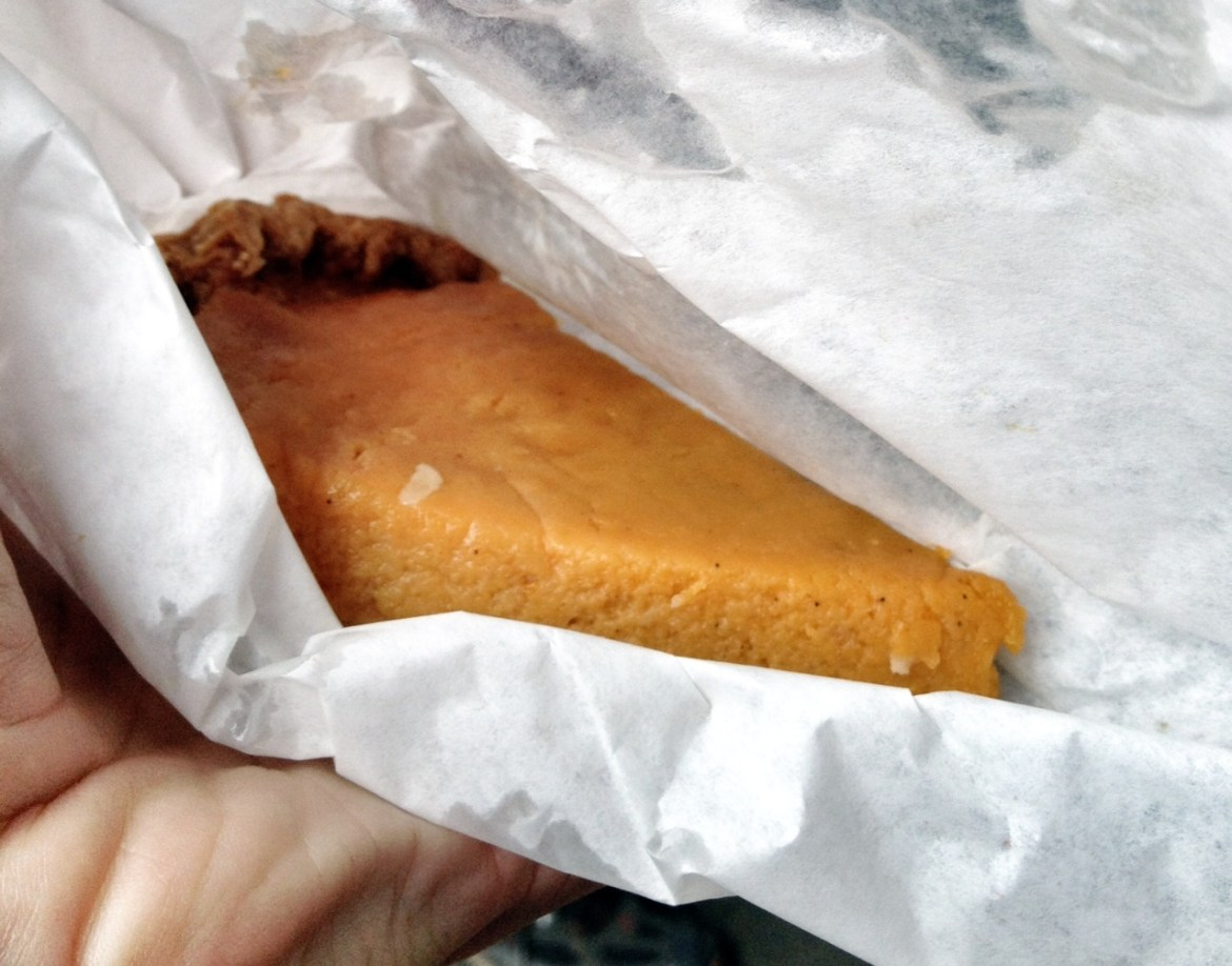 K Hall and Sons, homemade sweet potato pie