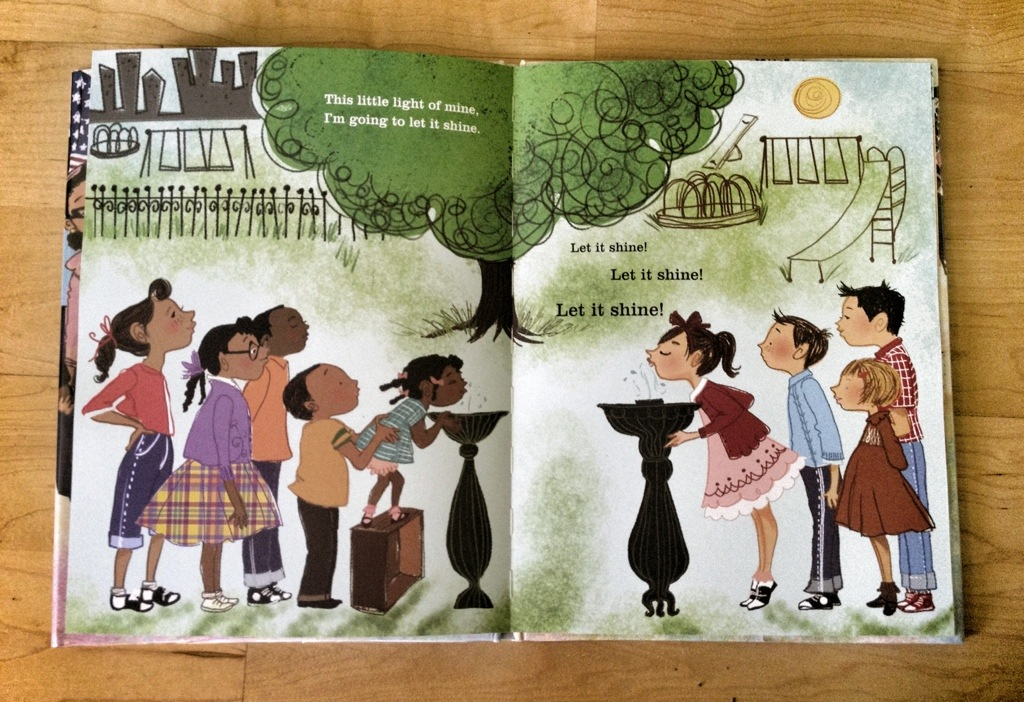 let freedom sing, vanessa newton, civil rights children's books, black history month