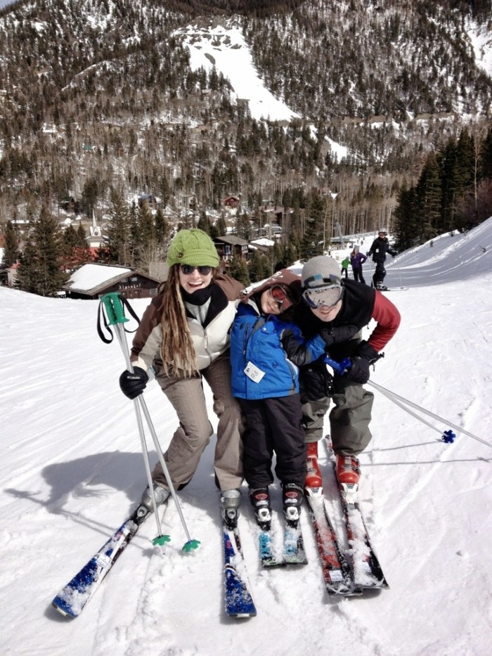 taos ski valley, ski, family vacations, new mexico, little guy on skis