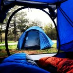 Snapshots of Spring Camping in Missouri