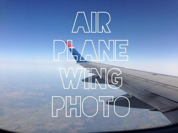 Airplane Wing Photo, Jacob Slaton, First Flights