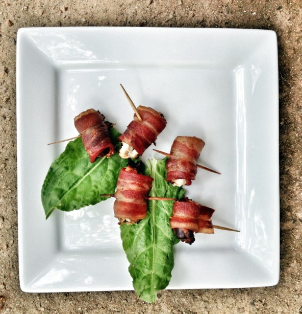 Bacon Wrapped Dates With Goat Cheese, Petit Jean Meats, Bacon Recipes, Appetizers