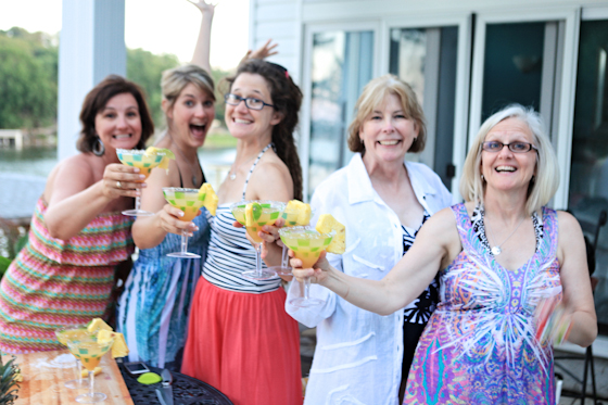 Orange Pineapple Margarita Recipe, Fun Drinks By The Pool, Girls Night, Summer Party