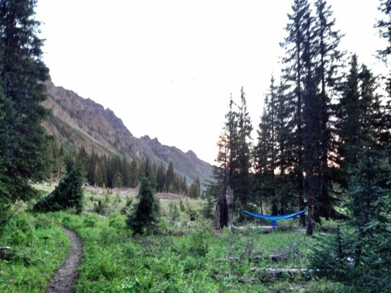 Aspen To Crested Butte Day 2, camping, colorado, backpacking, hiking with kids