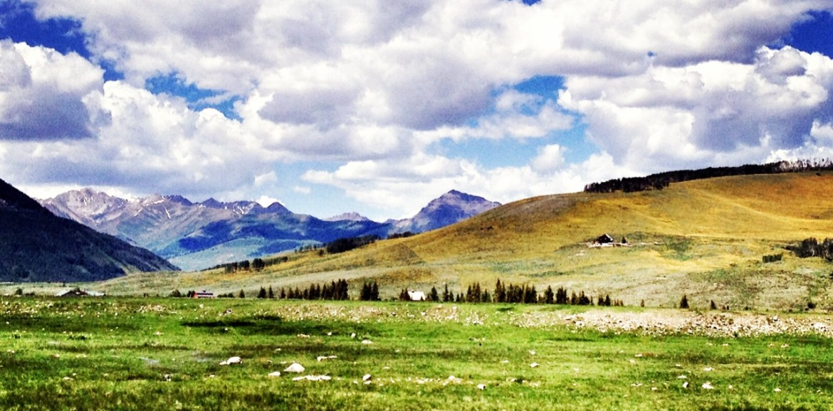 Backpacking from Aspen to Crested Butte, In The Pipeline, Colorado