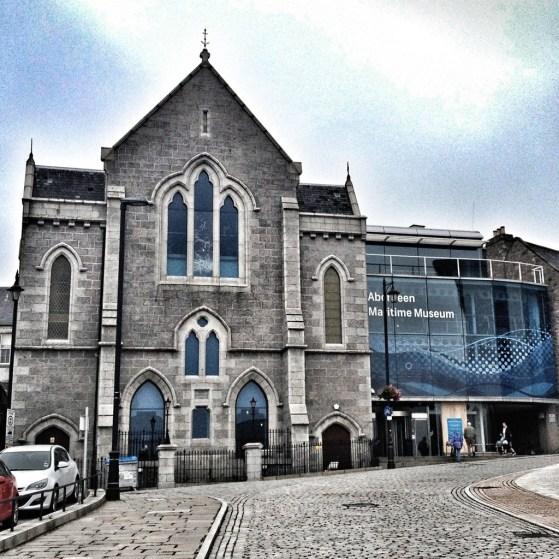 Maritime Museum, Aberdeen, Scotland, Week 2