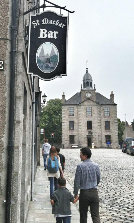 University of Aberdeen, Scotland, Week 2