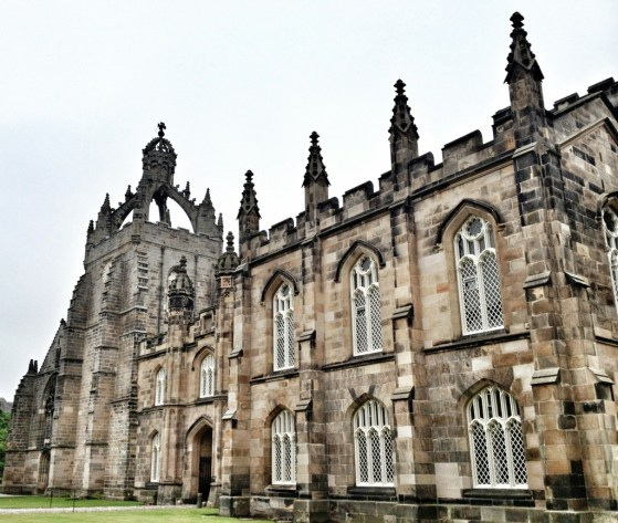 Kings College, Aberdeen, Scotland, Week 2