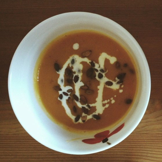 Life in Aberdeen, Scotland, Roasted Apple & Squash Soup, Jamie Oliver