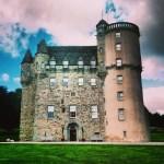 Castle Fraser in Aberdeenshire, Scotland