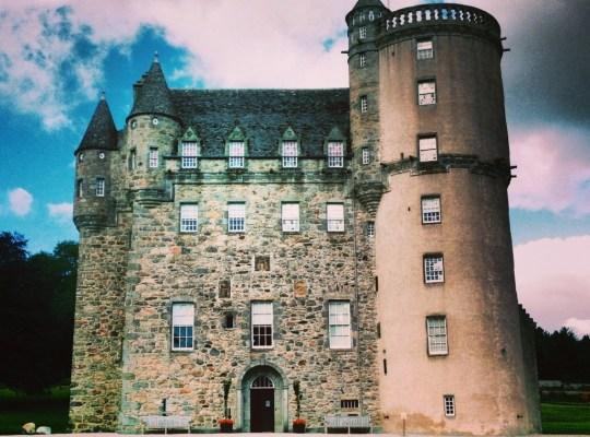 Castle Fraser, Scotland, Aberdeenshire