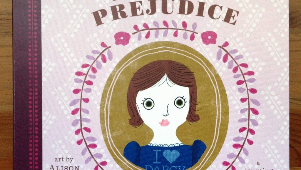 Pride and Prejudice, Board Book, Baby Gifts, Souvenirs From England, Jane Austen Board Book