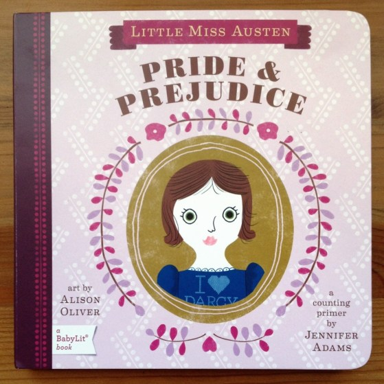 Pride and Prejudice, Board Book, Baby Gifts, Souvenirs From England,