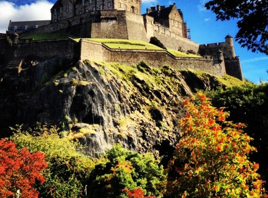 Edinburgh Castle, Edinburgh With Kids, Princes Street Gardens