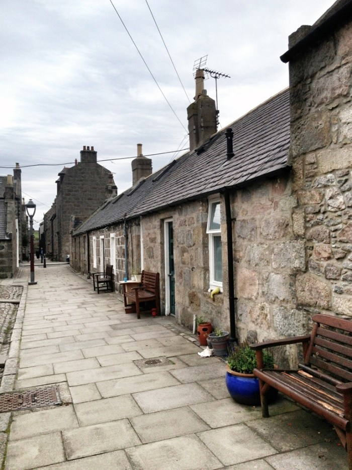Fishing Village of Footdee, Aberdeen