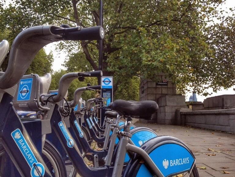 Barclays Bikes In London, In The Pipeline