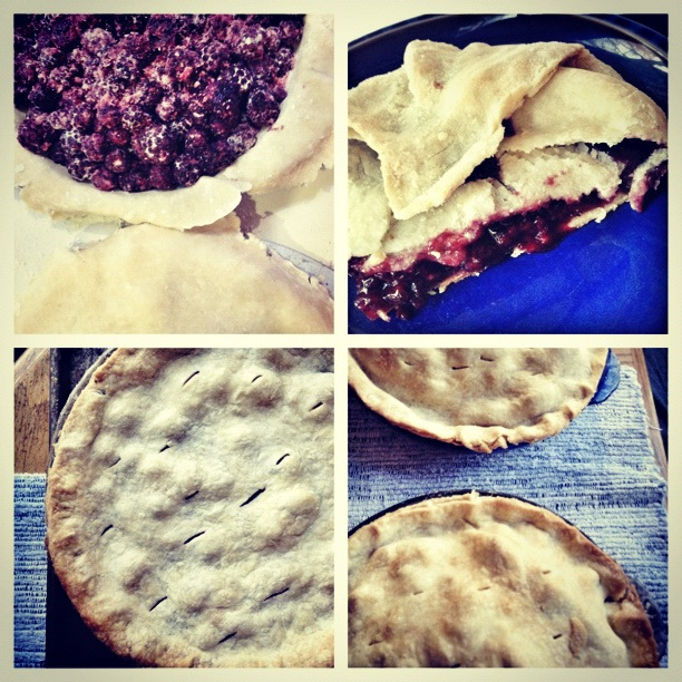 Blackberry Pie, Mama's House, Thanksgiving