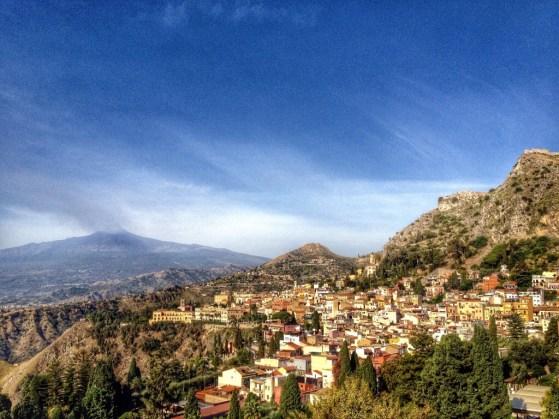 Snapshots of Sicily, Taormina, Mt Etna, Italy