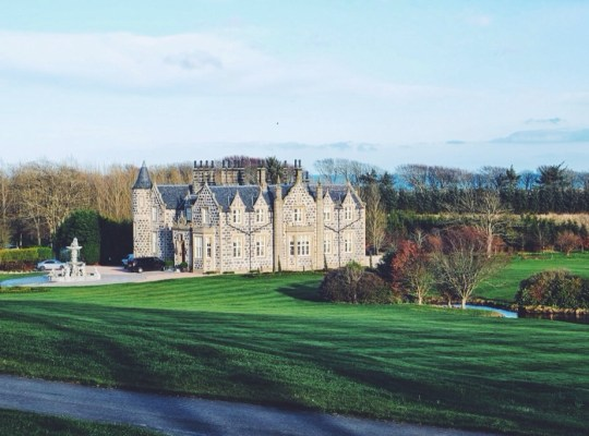 Trump International Scotland, MacLeod House, Balmedie