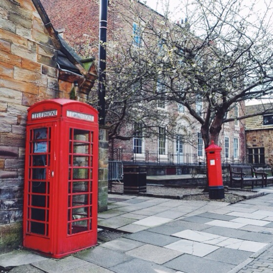 Snapshots of Durham, England, Red Telephone Booth