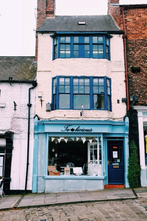 Snapshots of Durham, England, English Shop Fronts