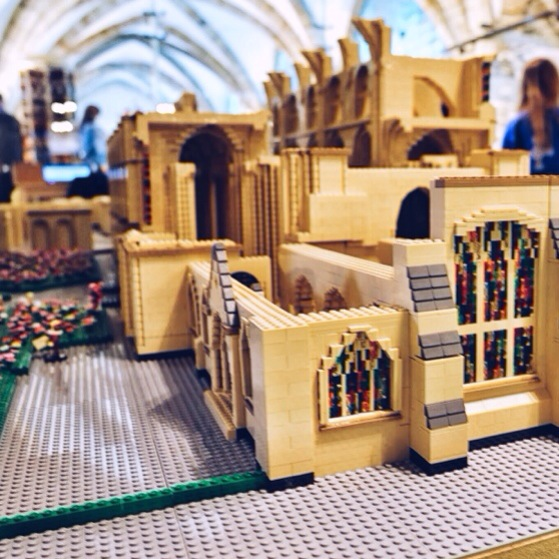 Snapshots of Durham, England, Durham Cathedral, Lego