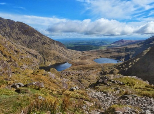Carrantohill Peak, Ireland's Highest Mountain, County Kerry, Killarney