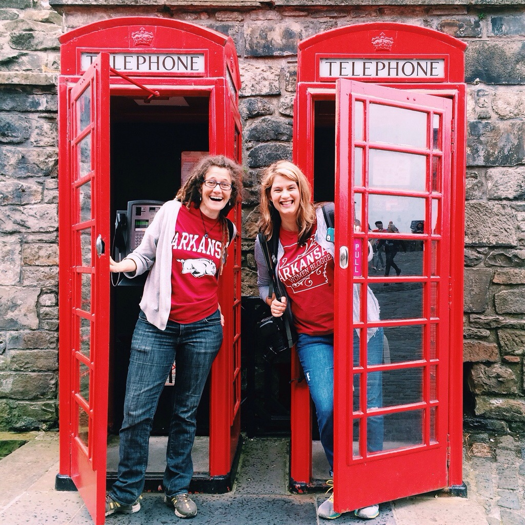 Red Phone Booths, Edinburgh