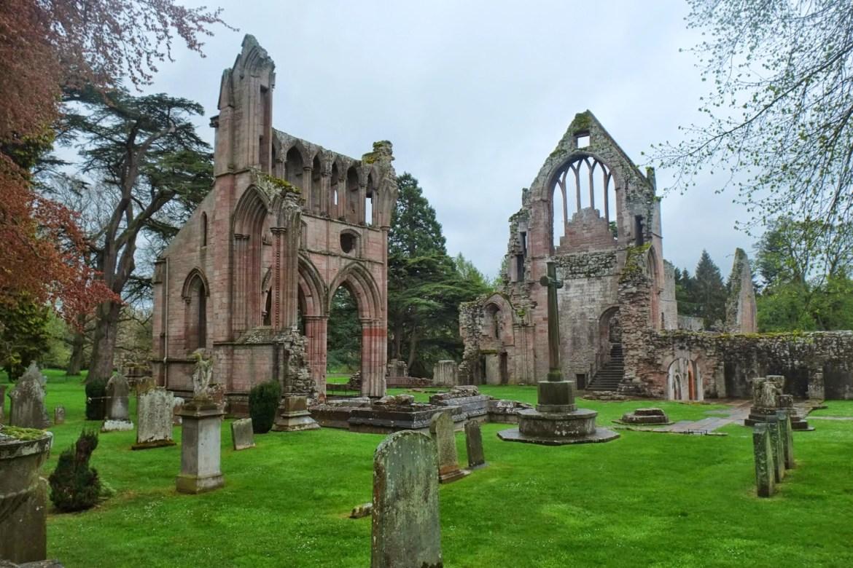 St Cuthberts Way, Scottish Borders, Dryburgh Abbey