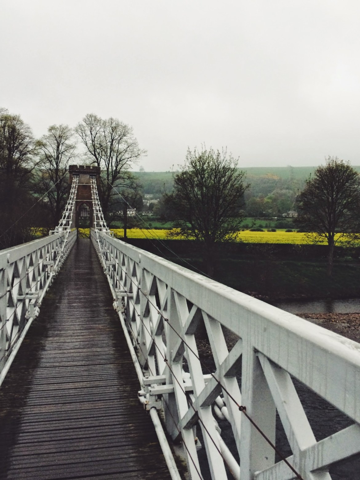 Bridge over river tweed, st cuthberts way