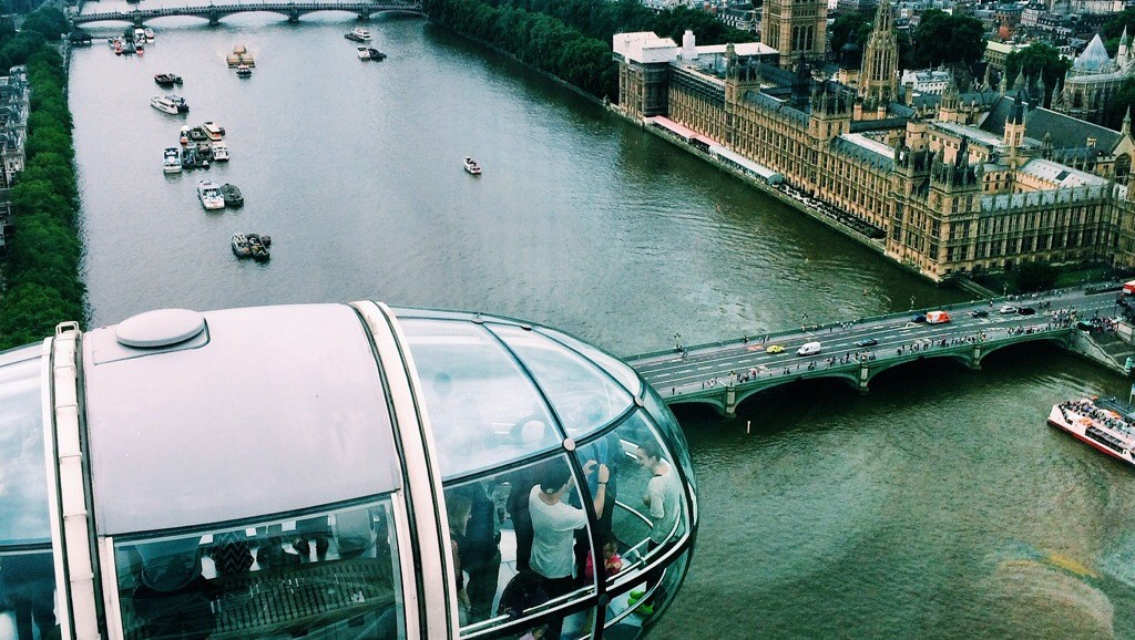 From the London Eye, England, Ten Days in the UK