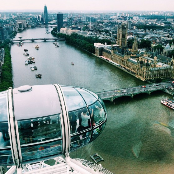 Snapshots of London, Summer, #IGTravelThursday, View from London Eye