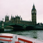 Snapshots of London from the Thames