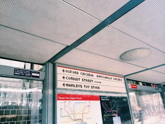 Snapshots of London, Hamleys Lego Bus Stop