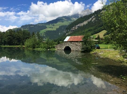 A Walk to A Waterfall, Engelberg, Switzerland