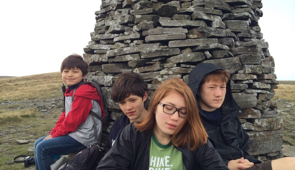 Coast to Coast, Yorkshire, Kirby Stephen to Keld, Nine Standard Rigg, Children Welcome