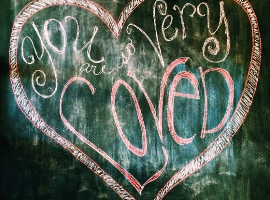 In The Pipeline, Happy Valentine's Day, Chalkboard Art