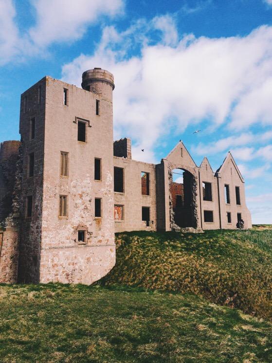 Cruden Bay, Scottish Coastal Walking, Scotland, Aberdeen, New Slains Castle