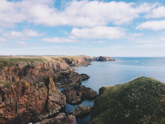 Cruden Bay, Scottish Coastal Walking, Scotland, Aberdeen