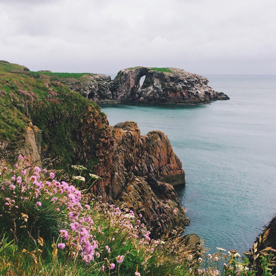 Cruden Bay, Scotland, Aberdeen Coastal Cliff Walking