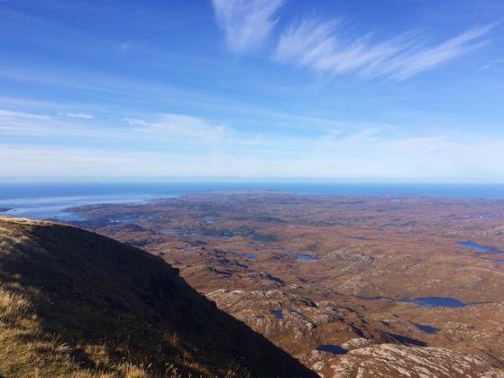 Suilvan, Scotland, Northwest Highlands, Chasing Daylight, Hillwalking