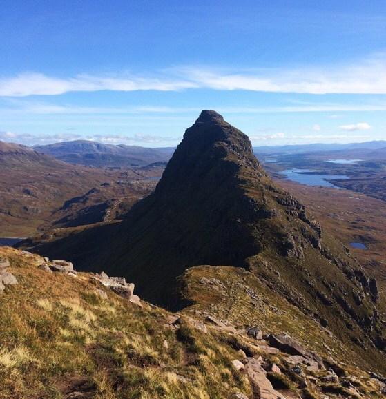 Suilvan, Northwest Higlands, Scotland, Hillwalking