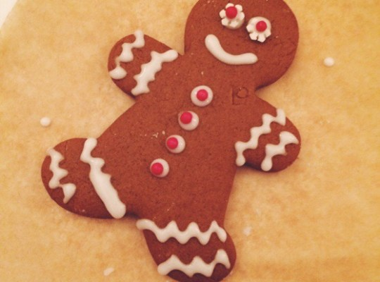 GIngerbread Men, Alison Chino