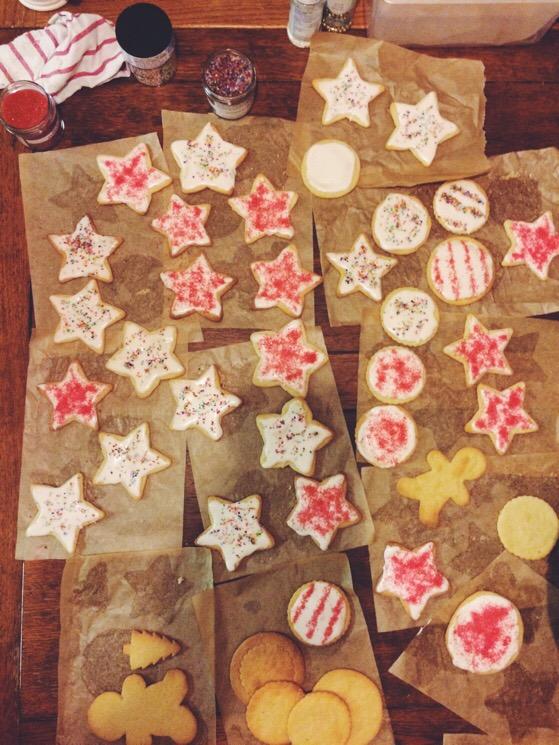 Christmas, Scotland, Baking