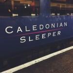 Snapshots of the Caledonian Sleeper Train