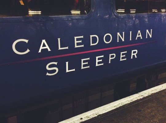 Caledonian Sleeper Train, London to Scotland, Aviemore