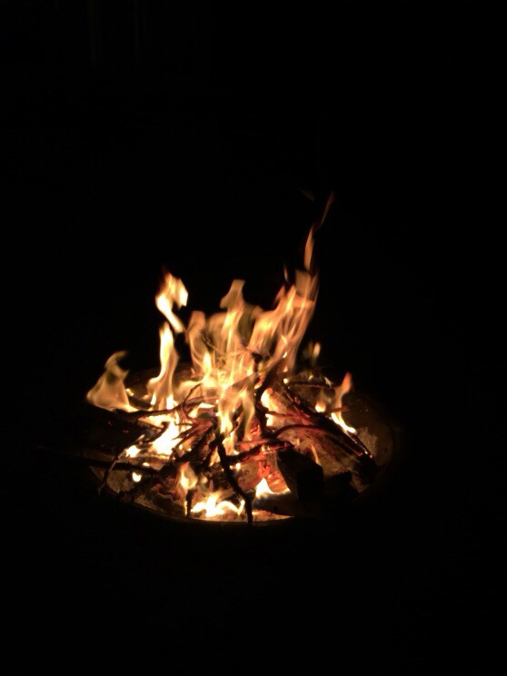 Fire, Christmas, Scotland