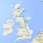 Ten Days in The UK via Train