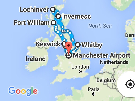 Ten Days in the UK by Car, Travel, England, Scotland