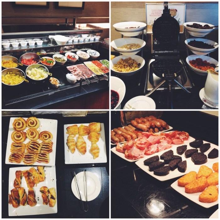Aberdeen Hilton Garden Inn Breakfast